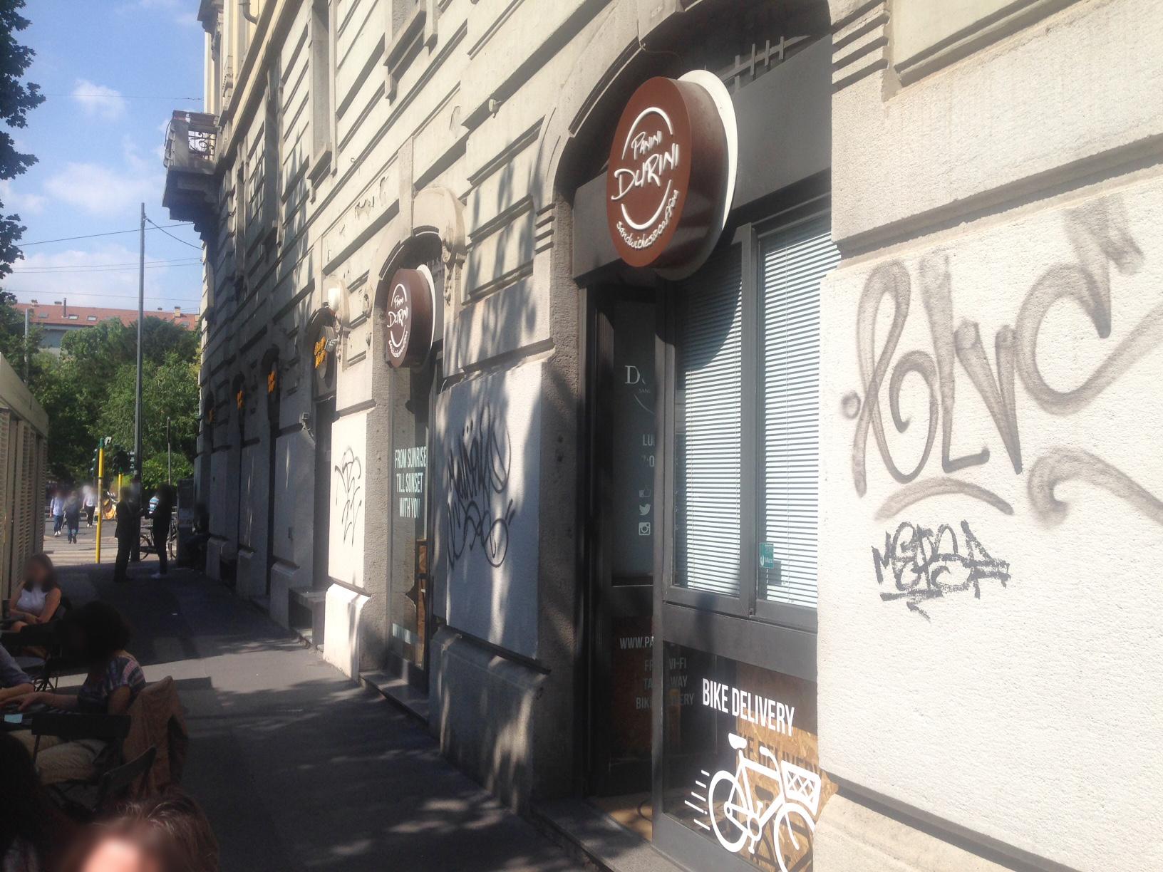 PANINI DURINI Via Ferdinando Bocconi 5